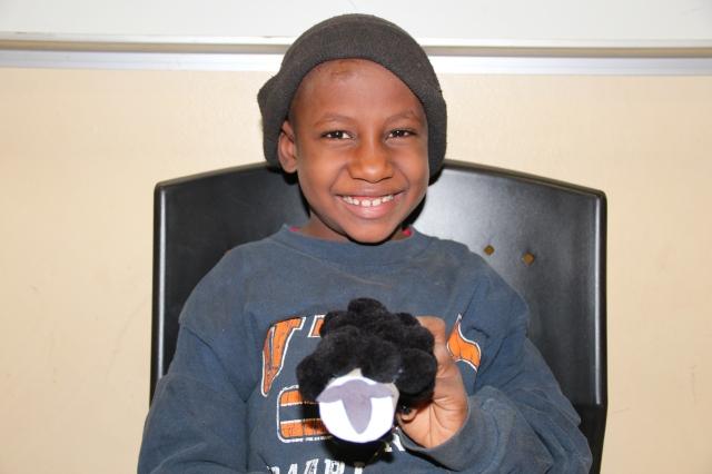 Omarou and his sheep